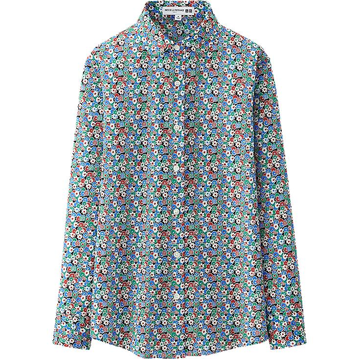 WOMEN IDLF COTTON LAWN LONG SLEEVE SHIRT
