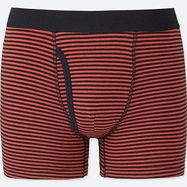 MEN Supima Cotton Striped Trunks