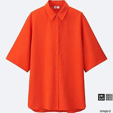 DAMEN U Easy Care Rayon Bluse oversized