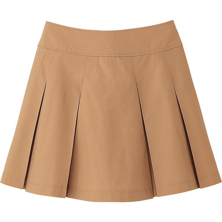 WOMEN COTTON MINI SKIRT
