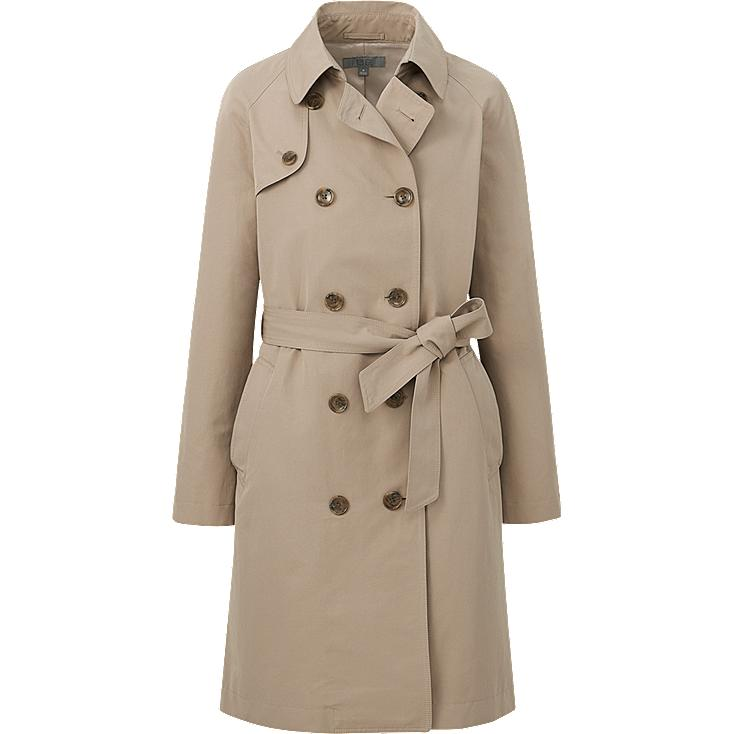 WOMEN LONG TRENCH COAT