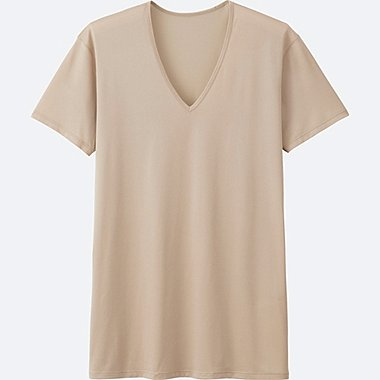 HERREN AIRism Mesh T-Shirt V-Ausschnitt