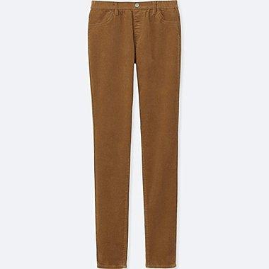 Pantalon Legging En Velours Côtelé FEMME