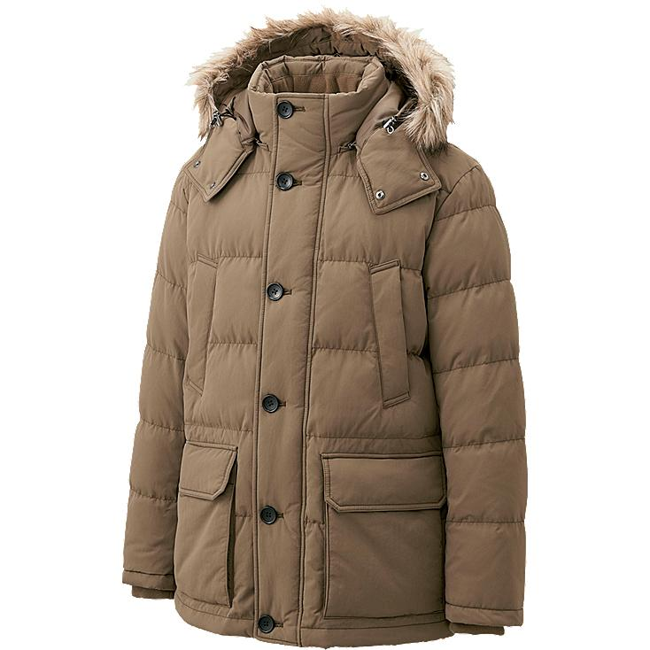 Uniqlo Mens Jackets Men Down Jacket