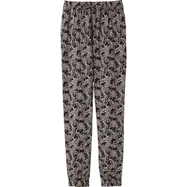 WOMEN DRAPE PRINTED BOTTOMS(PAISLEY)