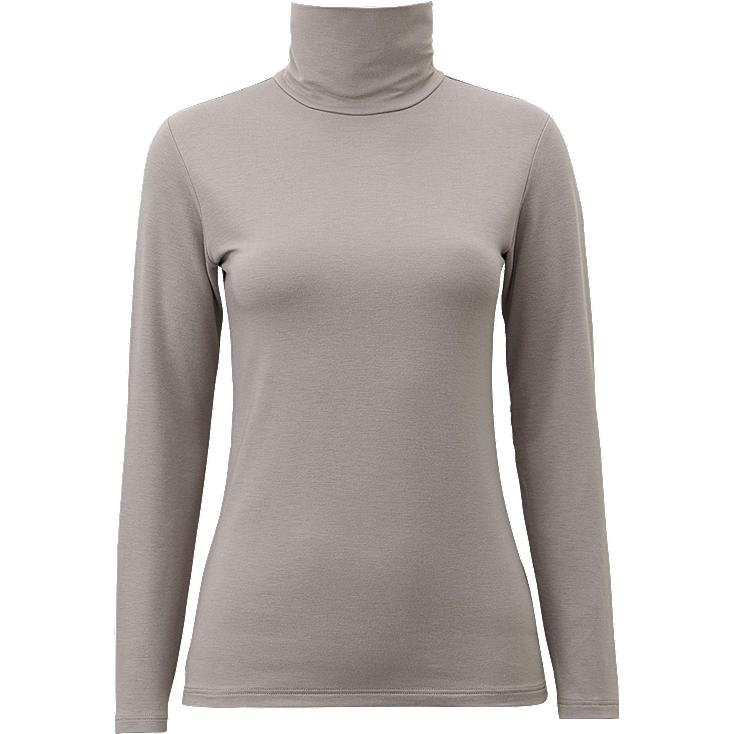 WOMEN HEATTECH EXTRA WARM TURTLENECK T-SHIRT