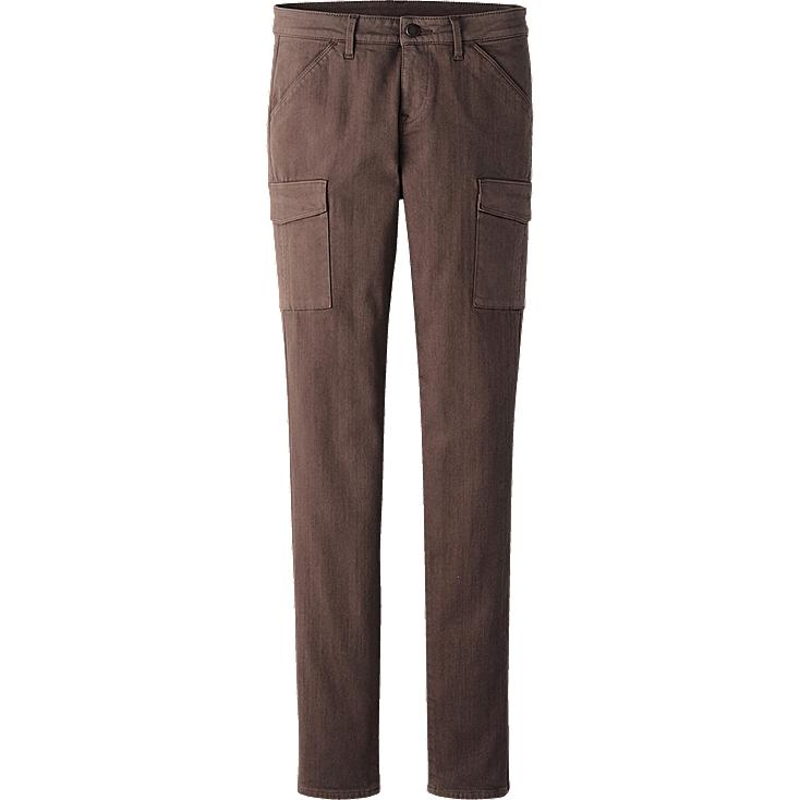 WOMEN ULTRA STRETCH SKINNY CARGO PANTS
