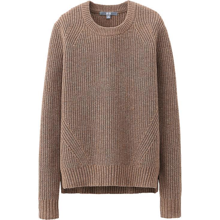 Heavy Gauge Wool Sweater 117