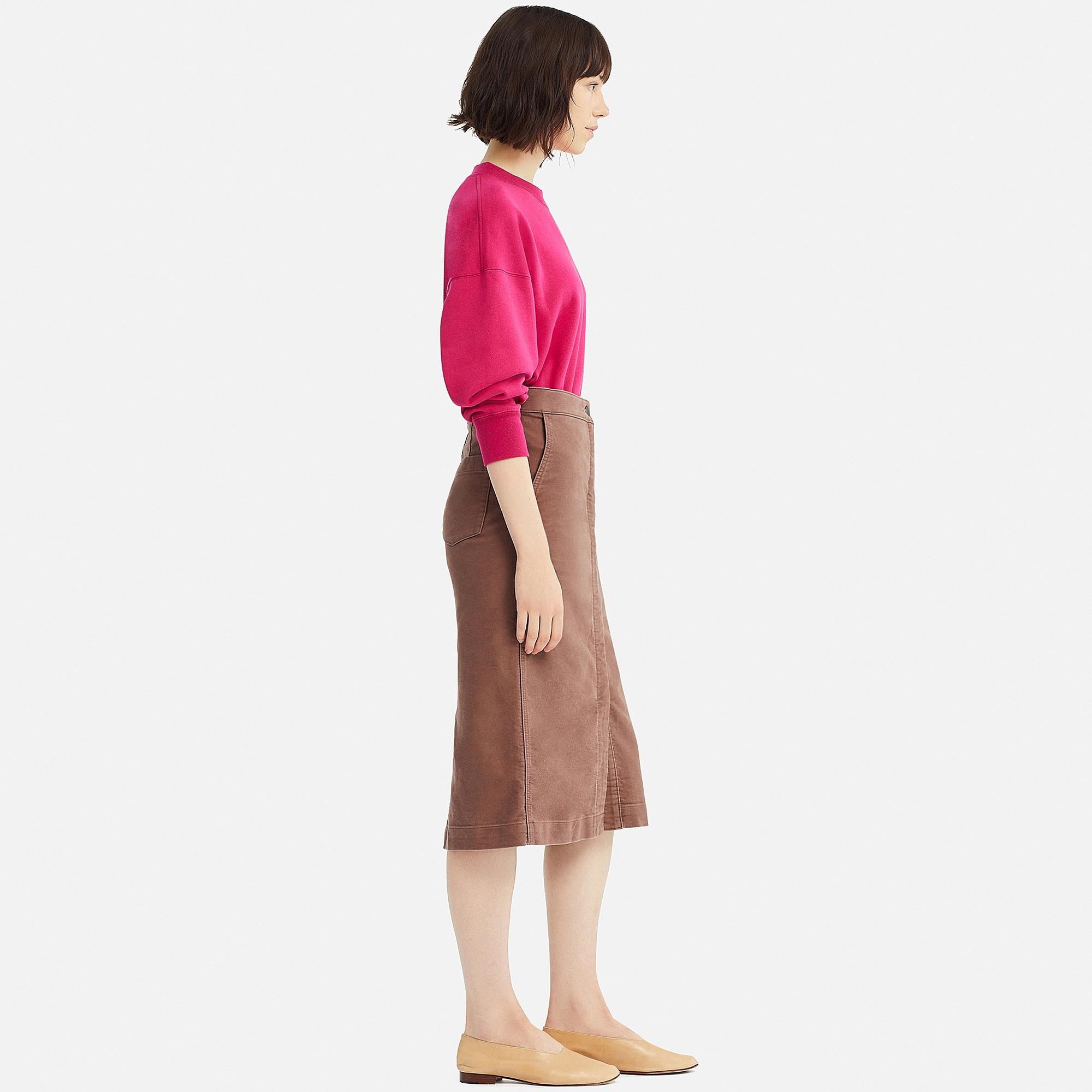 c3dc046ecb Uniqlo WOMEN UNIQLO U COTTON MIDI SKIRT at £9.9 | love the brands