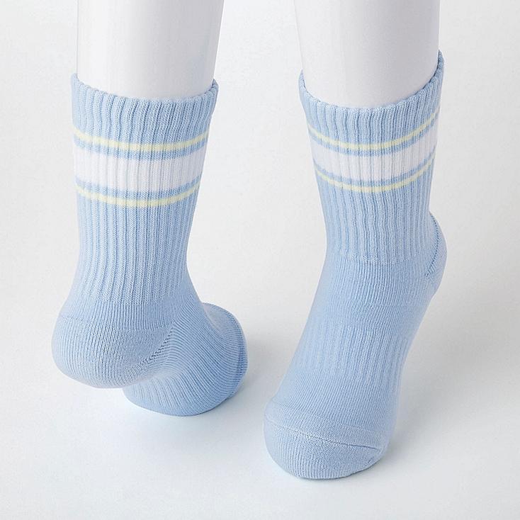 Uniqlo - STRIPED REGULAR SOCKS (TWO PAIRS) - 2