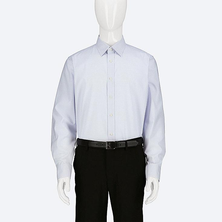 Uniqlo - EASY CARE CHECKED REGULAR FIT SHIRT (REGULAR COLLAR) - 4