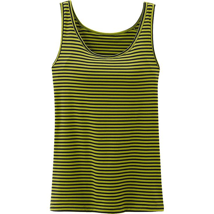 WOMEN HEATTECH BRA SLEEVELESS TOP (STRIPE)