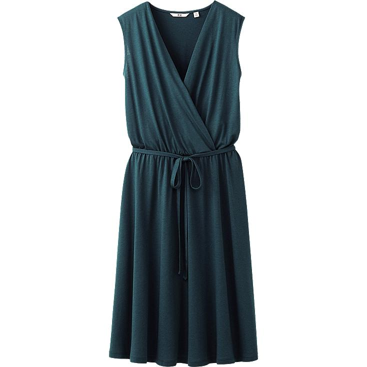 WOMEN CACHE-COEUR SLEEVELESS DRESS