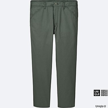 MEN Uniqlo U Cotton Twill Pants