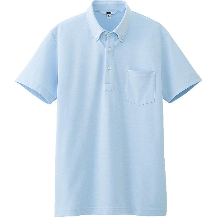 MEN DRY SHIRT COLLAR SHORT SLEEVE POLO SHIRT
