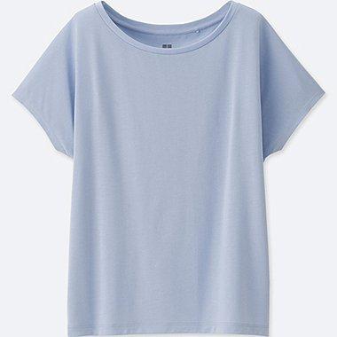 T-Shirt Drapé Entretien Facile FEMME