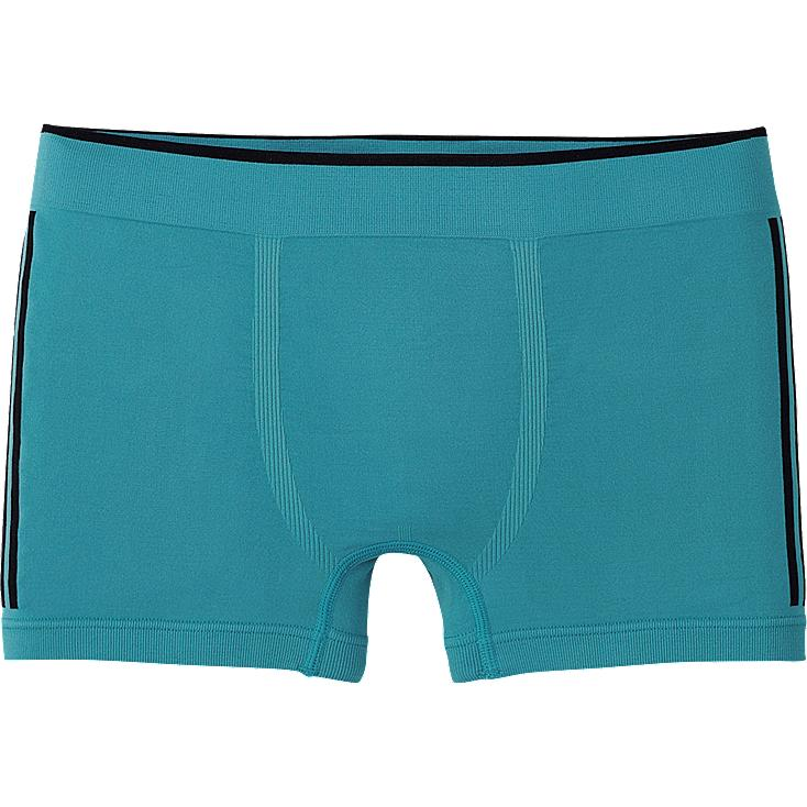 MEN SEAMLESS LOW RISE BOXER BRIEFS