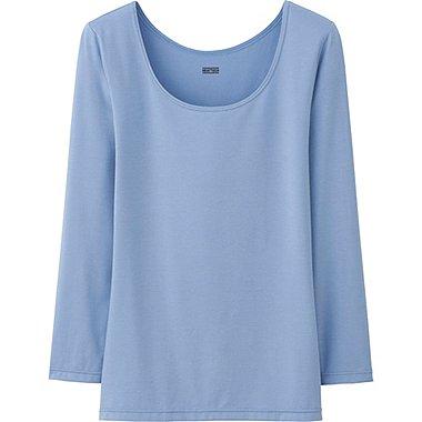 HEATTECH T-Shirt Col U FEMME