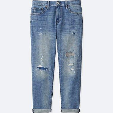 DAMEN Jeans Hose 7/8 Länge