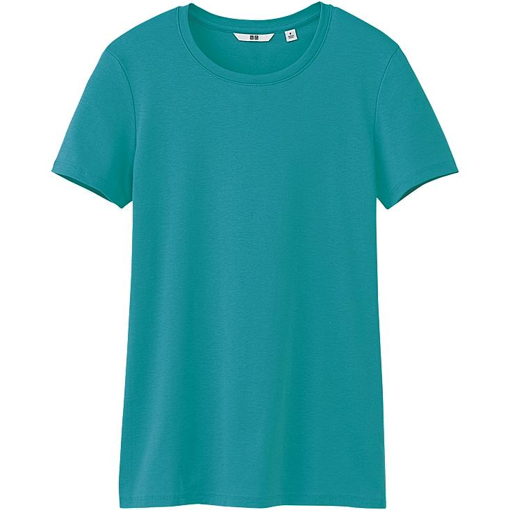 WOMEN PREMIUM COTTON CREW NECK SHORT SLEEVE T-SHIRT