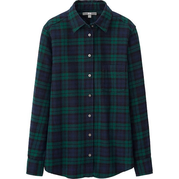 Women S Black Watch Flannel Shirt Calmynan Mp3