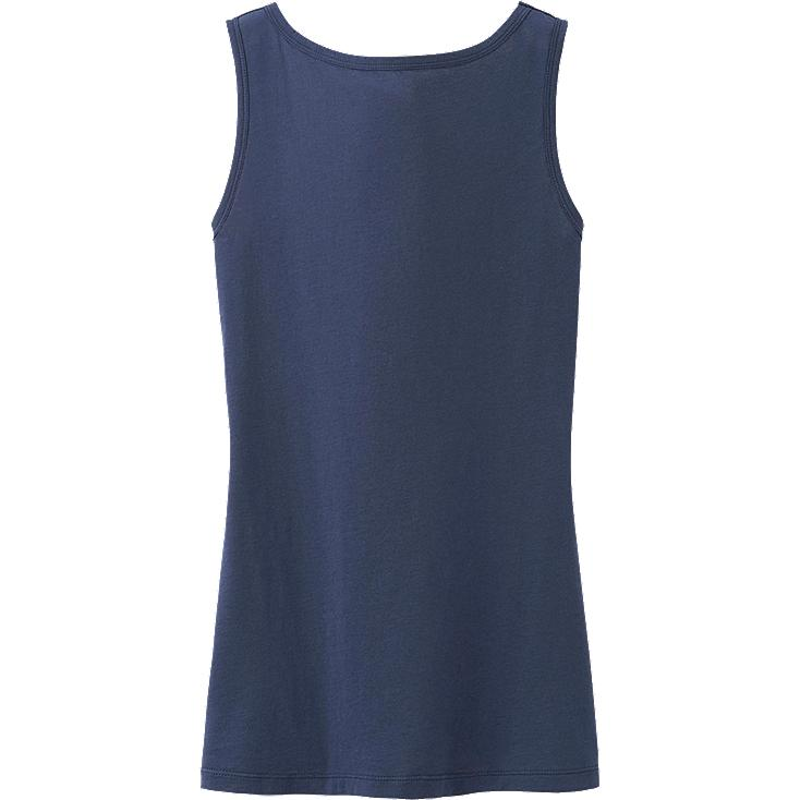 WOMEN IDLF SUPIMA COTTON LONG TANK TOP
