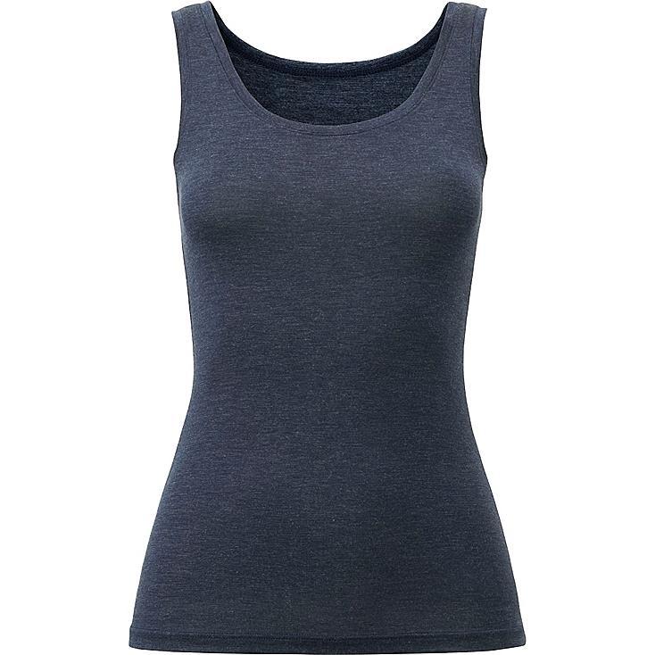 heattech t shirt sans manche femme uniqlo. Black Bedroom Furniture Sets. Home Design Ideas