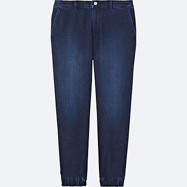 Pantalon Jogger en Jean HOMME