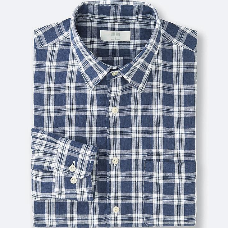HERREN Premium Leinen Hemd