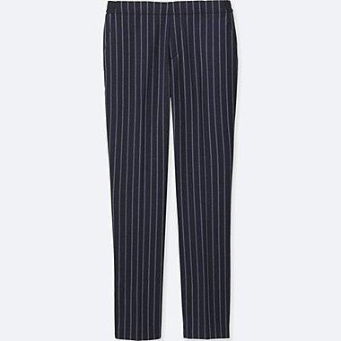 Pantalon 7/8Ème Rayé FEMME
