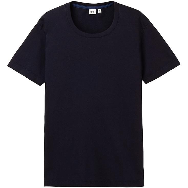 MEN PREMIUM COTTON CREW NECK SHORT SLEEVE T-SHIRT
