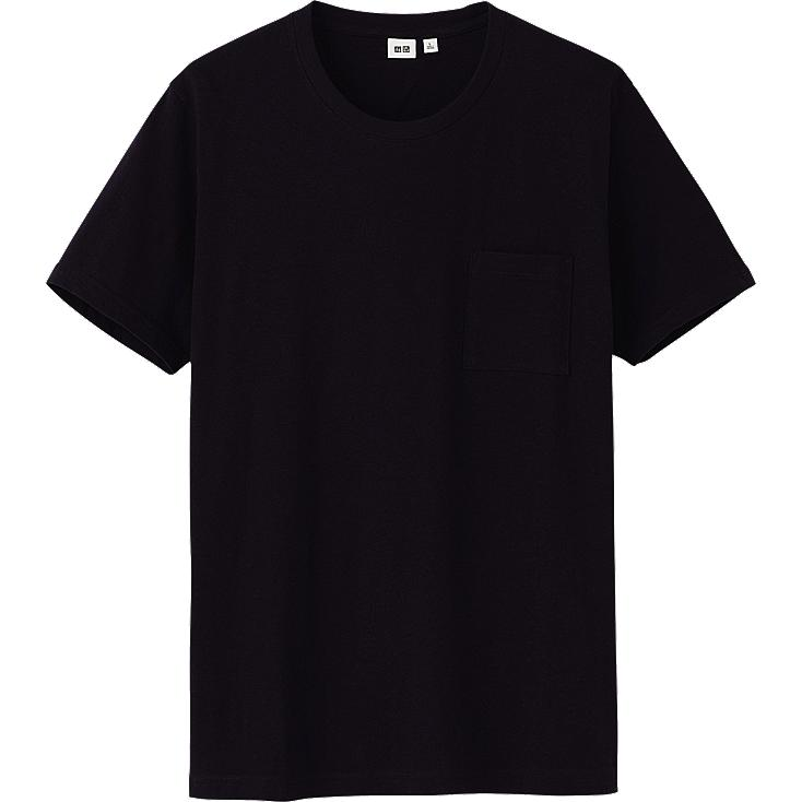 MEN CREW NECK POCKET SHORT SLEEVE T-SHIRT