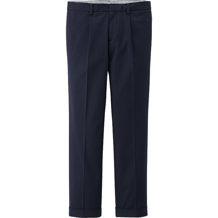 Cool WOMEN SMART STYLE ANKLE LENGTH PANTS BLUE Large