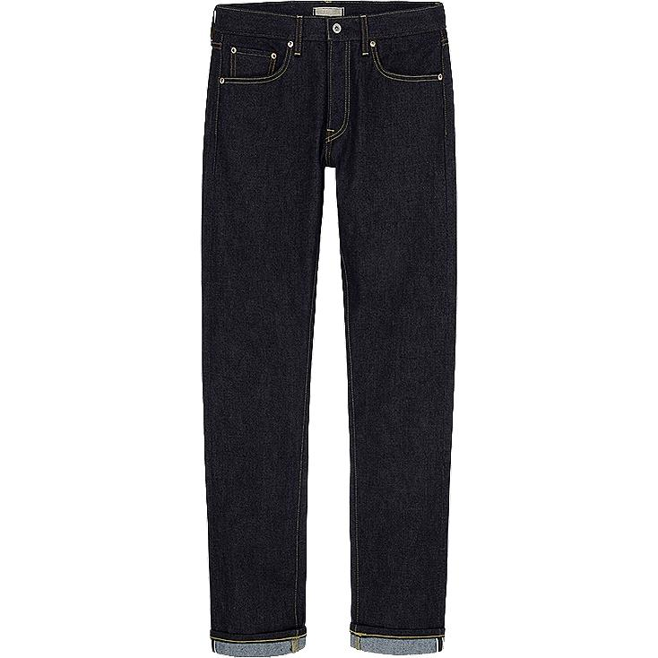 MEN SLIM FIT STRAIGHT JEANS (SELVEDGE)