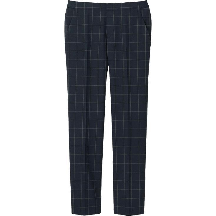 Elegant Uniqlo Women39s Ankle Length Pants In Blue  Lyst