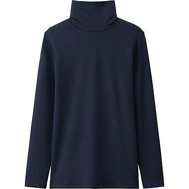 HEATTECH Extra Warm T-Shirt  Col Roulé FEMME