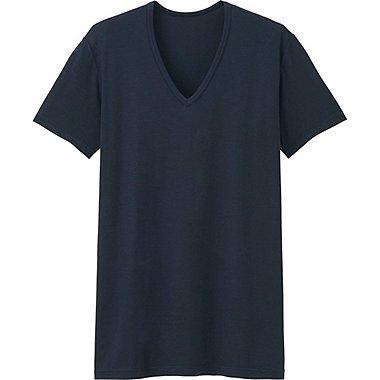 HEATTECH T-Shirt Col V Manches Courtes HOMME