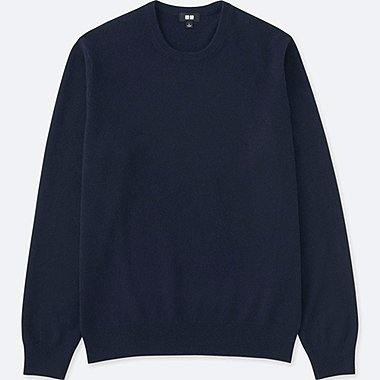 Pull Cachemire Col Rond HOMME