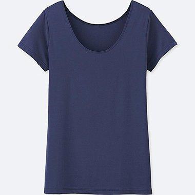 Tshirt AIRism Col U FEMME