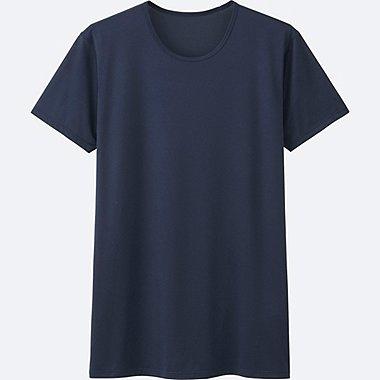 HERREN AIRism Mesh T-Shirt Rundhals Kurzarm