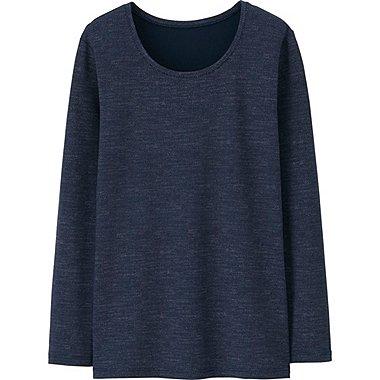 HEATTECH T-Shirt Extra Warm Col Rond FEMME