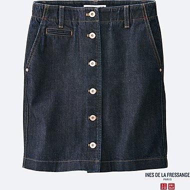 INES Mini Jupe en Jean FEMME