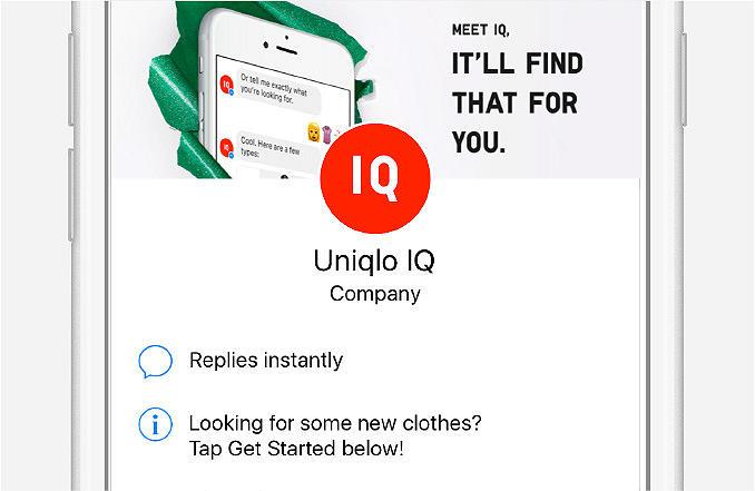 IQ Messenger Header