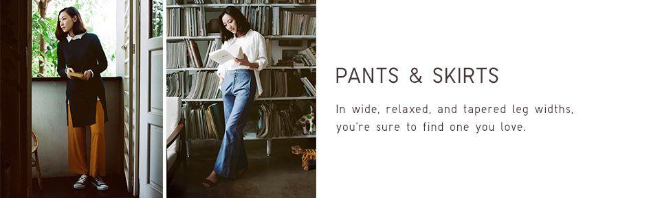 PANTS AND SKIRTS