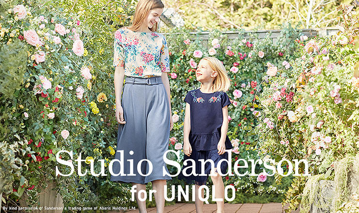 Studio Sanderson: With signature flower prints from the renowned English brand.