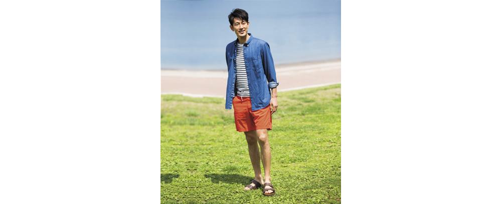 男裝休閒海灘泳褲