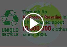 UNIQLO全部商品回收再用活動