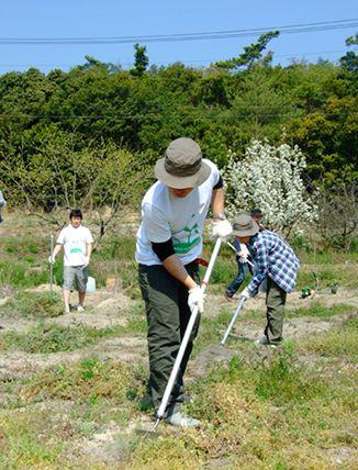 UNIQLO全公司參與瀨戶內橄欖基金活動。