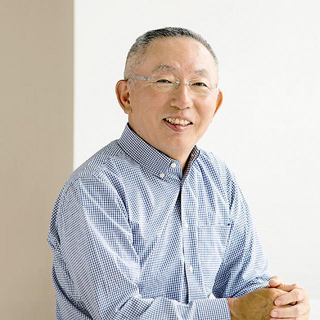 portrait of Mr. Yanai