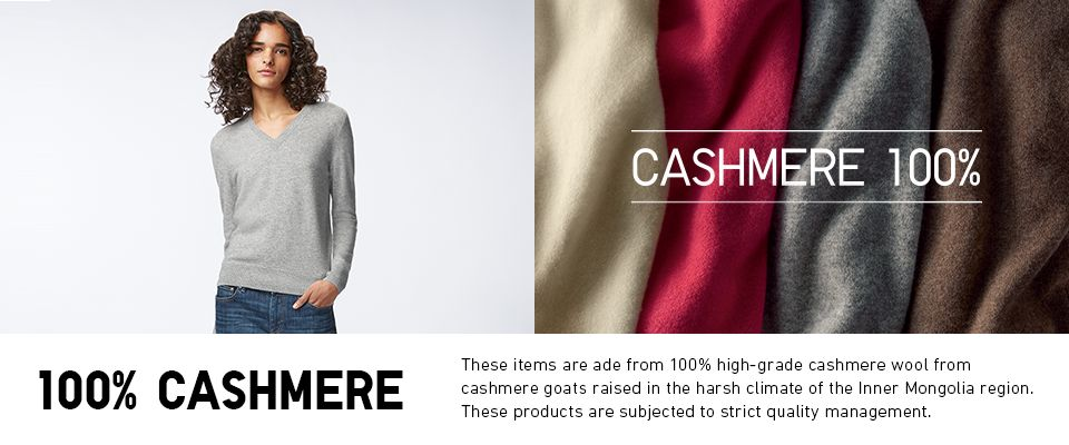 Cashmere 100%